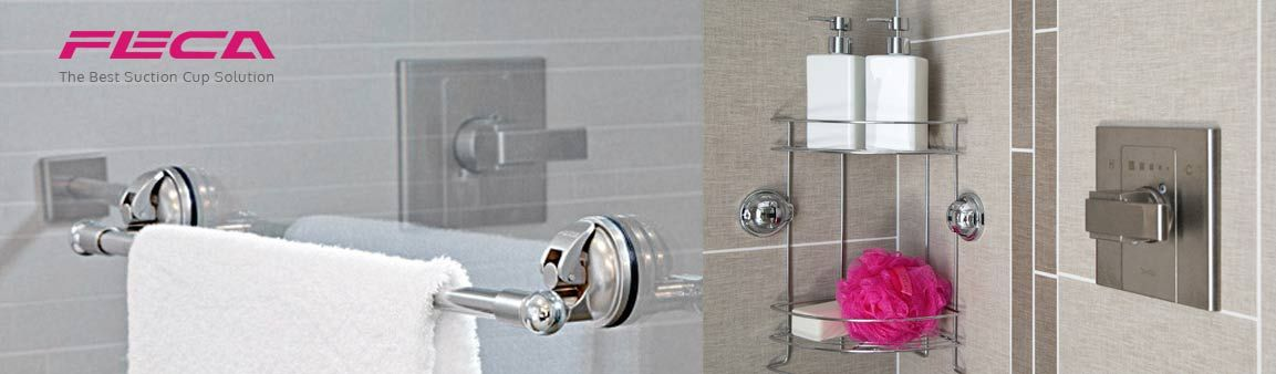 So Easy To Organize With Moveable Bathroom Wall Hooks U2013 FECA USA