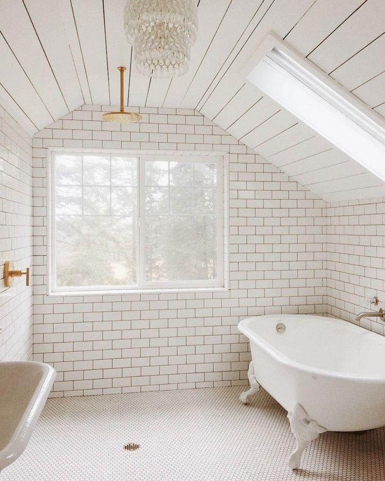Attic Bathroom: 48+ Awesome Attic Bathroom Design Ideas