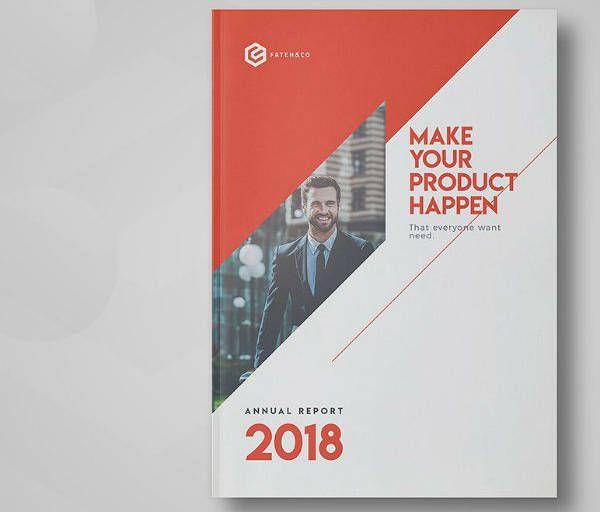16+ Annual Report Cover Designs & Templates