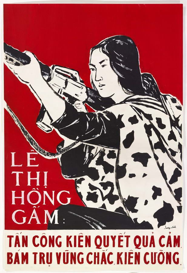 Le Thi Hong Gam. The heroine of the battle at Duong Ánh, 1971