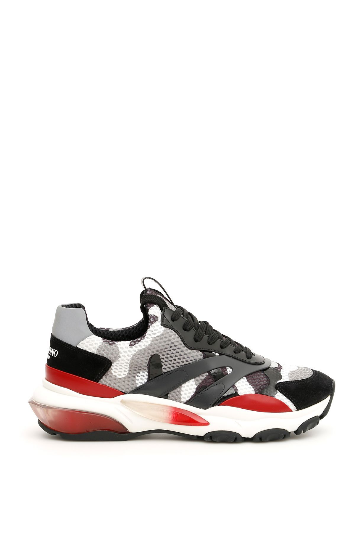 a0f62606a VALENTINO CAMOUFLAGE BOUNCE SNEAKERS.  valentino  shoes