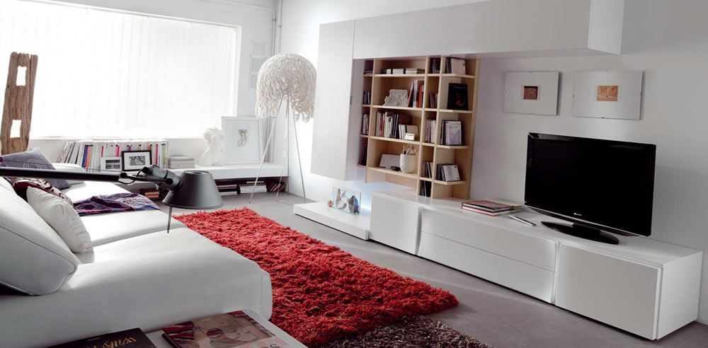 Mymobel iluminaci n modelo mueble de salon maple precio for Salones completos modernos precios