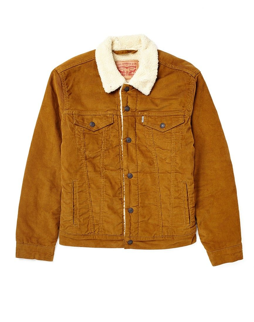 bb2c4180a Levi s Sherpa Trucker Jacket in Cord
