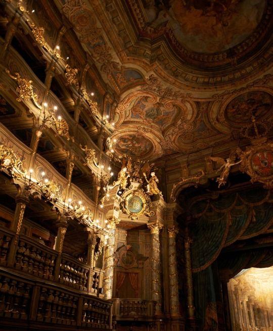 Markgräfliches Opernhaus, Bayreuth, Germany | Arte barroco