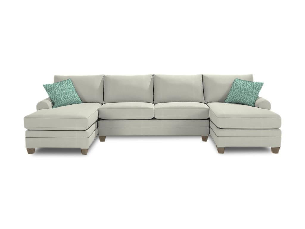 CU2 Double Chaise Sectional Custom Product Details BODY FABRIC