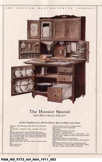1900 Hoosier Cabinet & Hoosier Cabinet Plans - DIY | Hoosier cabinet Rustic kitchen and ...