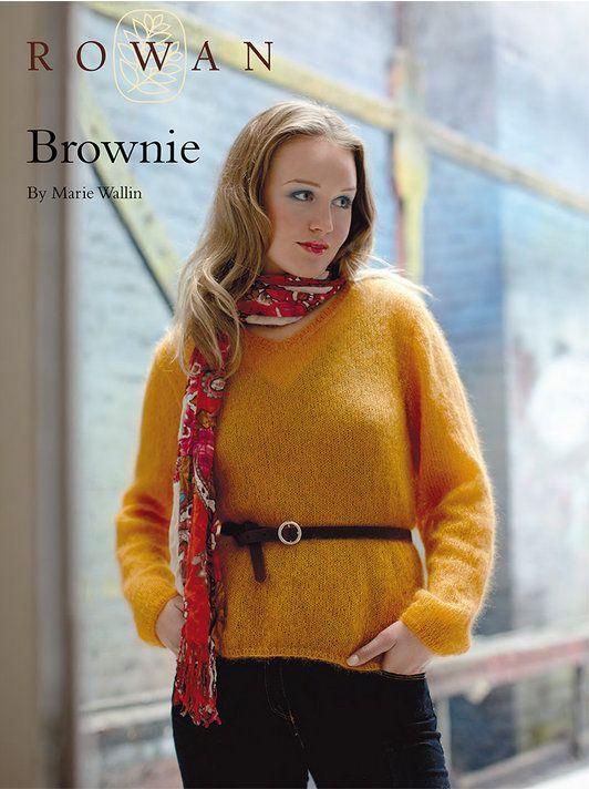 Brownie by Marie Wallin in Rowan Kidsilk Haze: http://www.mcadirect ...