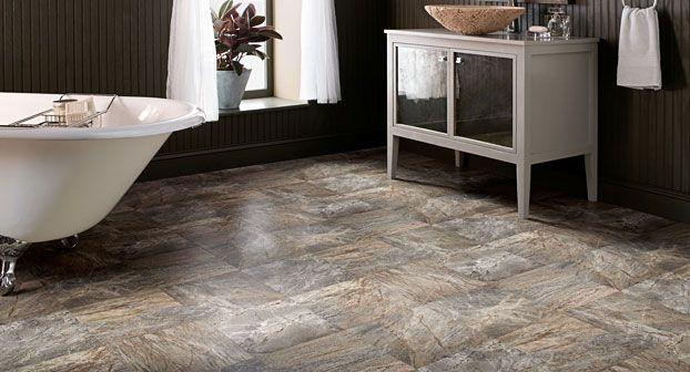 Resilient Floors Sensible Carefree Floor Mannington Flooring Vinyl Flooring Bathroom Bathroom Vinyl Cheap Bathroom Remodel