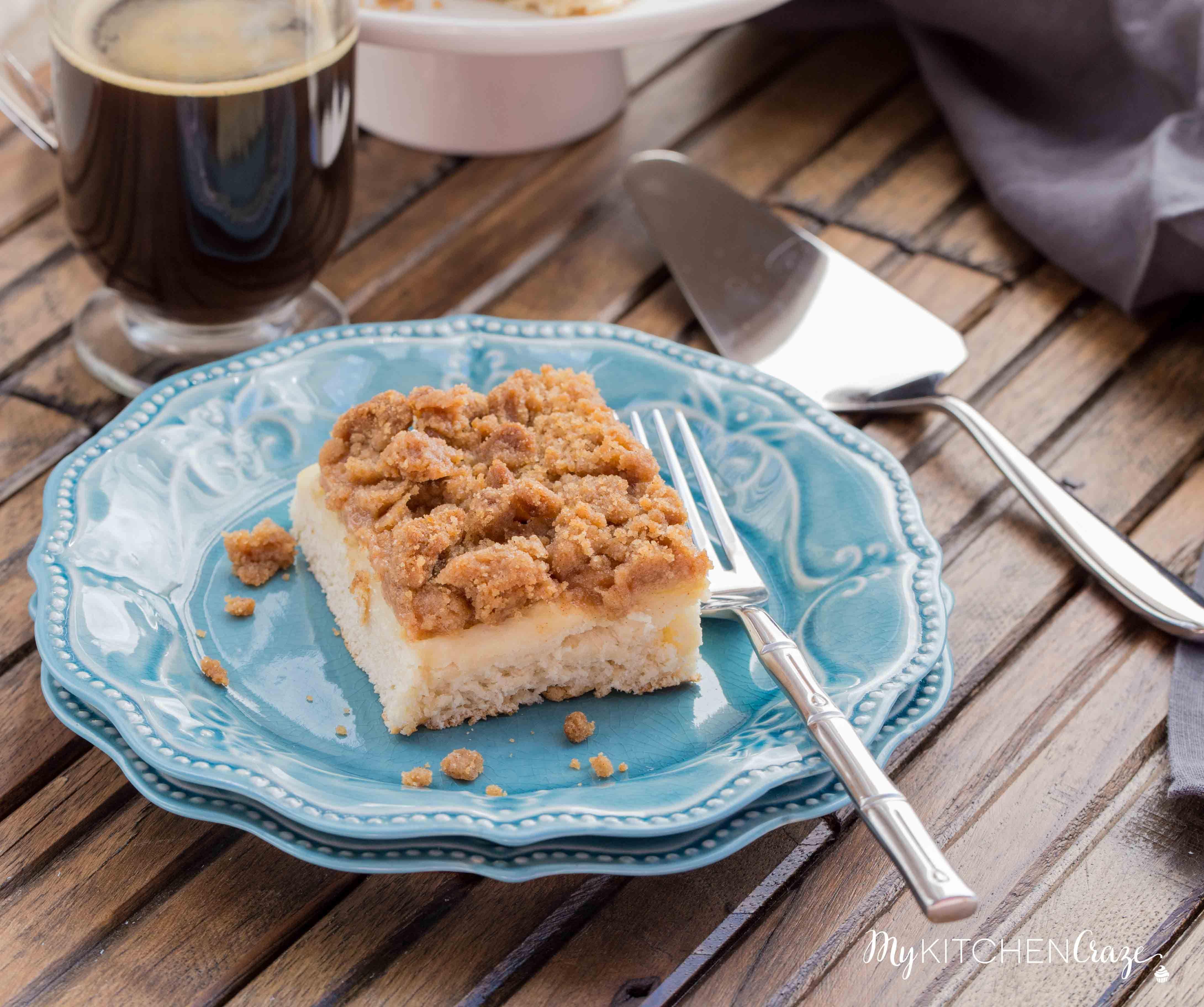 Apple Crisp Coffee Cake Is A Delicious Moist Cake, Loaded
