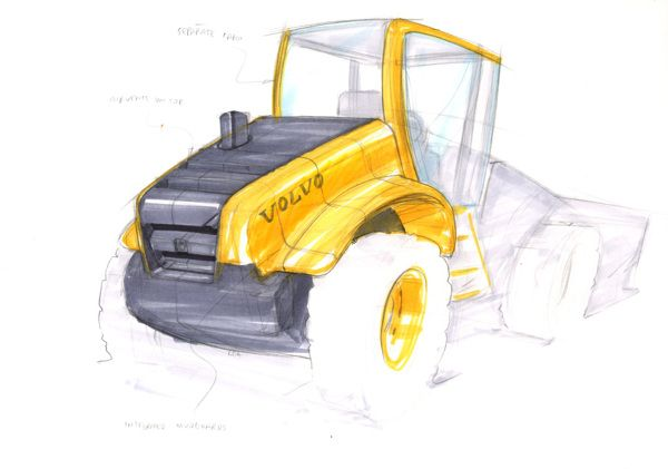 volvo construction equipment l220 wheel loader by jens. Black Bedroom Furniture Sets. Home Design Ideas