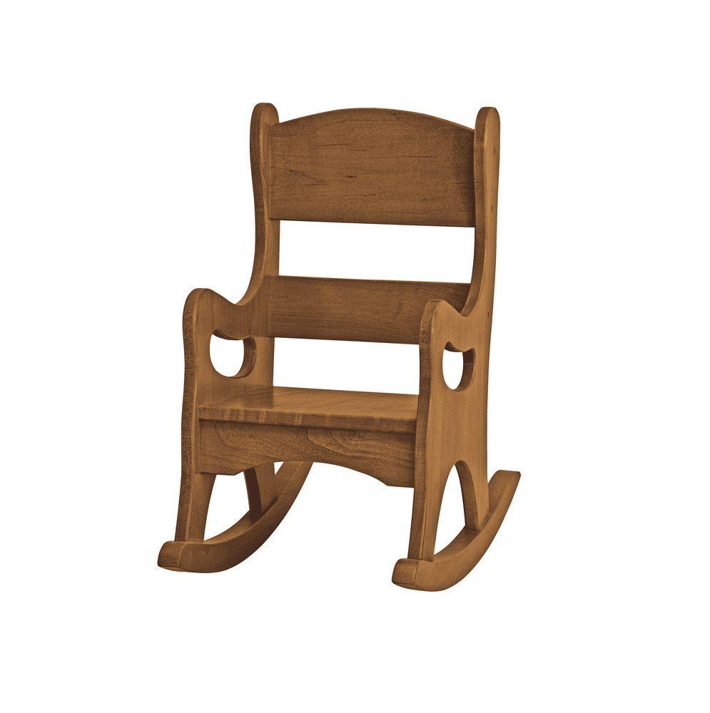 Enjoyable Amish Handmade Heirloom Furniture Childrens Rocking Chair Squirreltailoven Fun Painted Chair Ideas Images Squirreltailovenorg