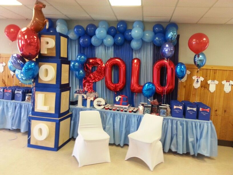 Marvelous Polo Baby Shower More
