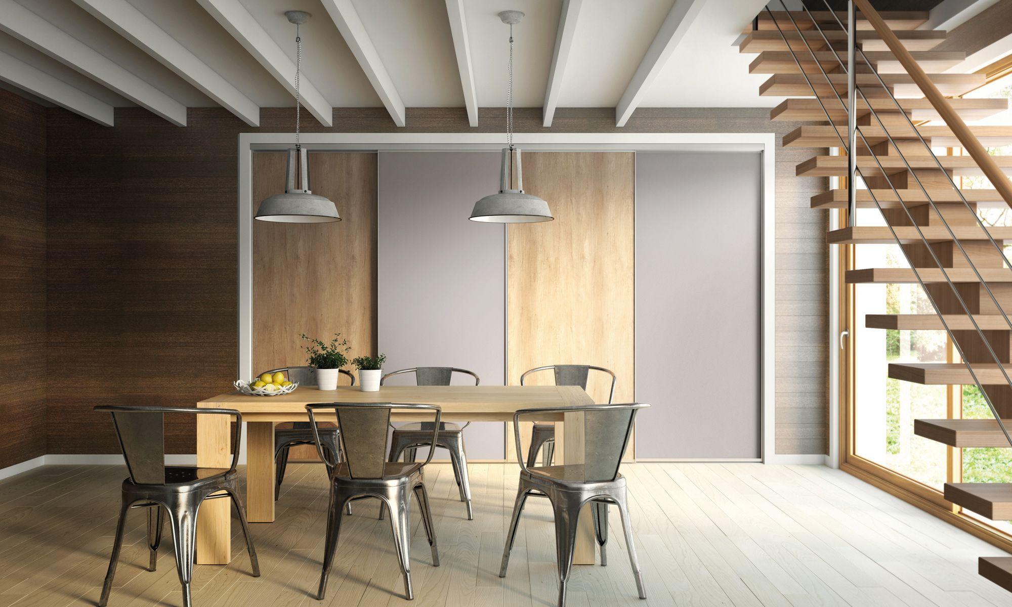 sogal s jour salle manger placard coulissant mod le. Black Bedroom Furniture Sets. Home Design Ideas