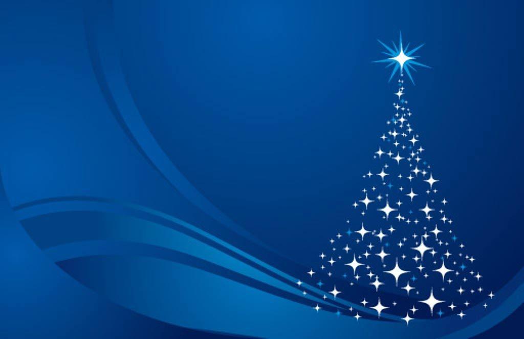 Foto Sfondi Natalizi.Sfondi Natalizi Sfondo Natalizio Albero Di Natale Luminoso Natale Blu Sfondo Natalizio Natale