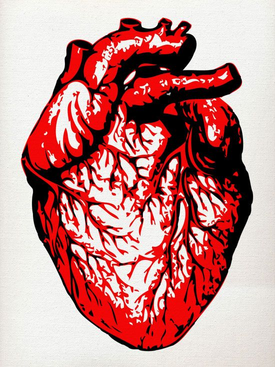 Human Heart Painting iampat.co.uk | Dear to my heart ...