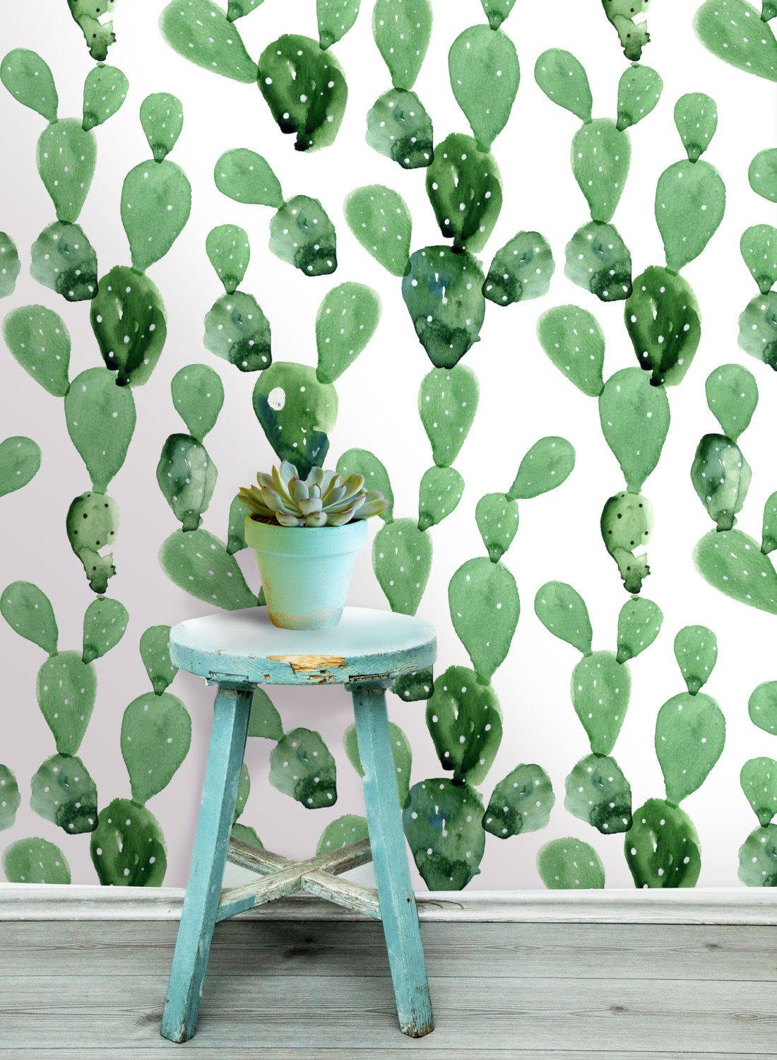Cactus wall mural self adhesive fabric wallpaper office ideas cactus wall mural self adhesive fabric wallpaper amipublicfo Image collections