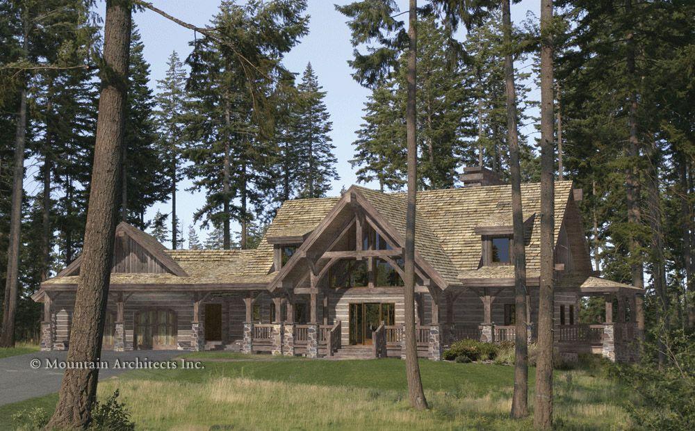 Timber Frame House Plan of Precision Craft Log Timber Homes – Precision Log Home Floor Plans