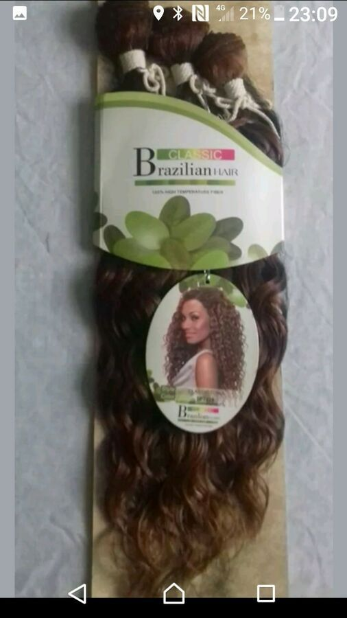 Noble Gold Classic Tonia,100 Premium Hi Quality Synthetic Hair. 3 bundles ,