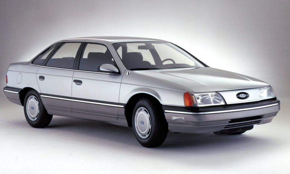 A Brief History Of The Eighties In Worldwide Car Awards Taurus Ford Motor Ford Taurus Sho