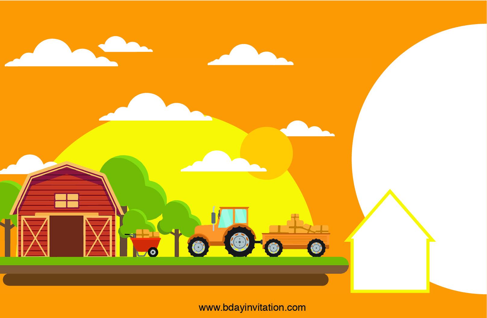 Download Free Printable Farm Birthday Invitation Template Farm Birthday Invitation Birthday Invitation Templates Farm Birthday