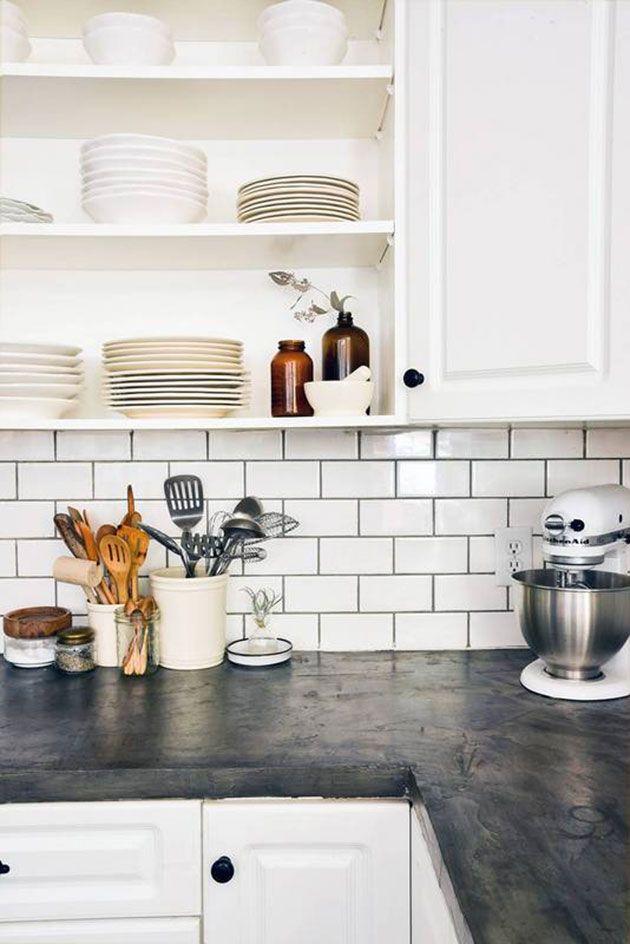 10 materiales diferentes para la encimera de la cocina | Encimera de ...