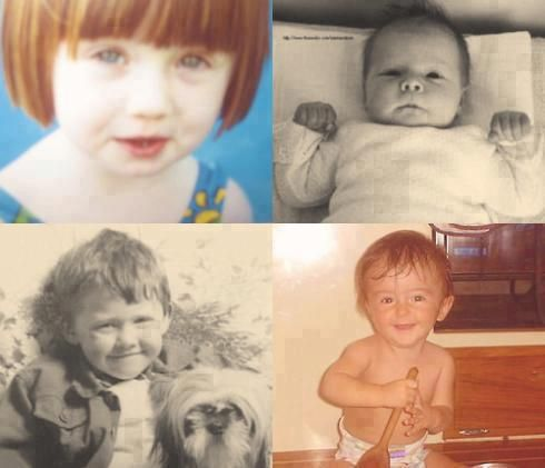 Baby Pictures Of Bonnie Emma Rupert And Dan D Harry Potter Cast Harry Potter Actors Harry Potter Universal