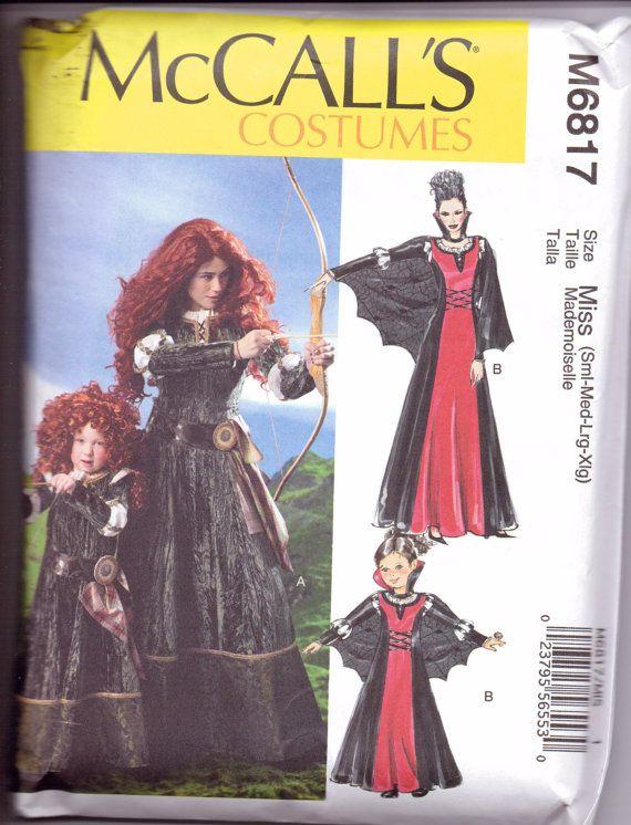 new mccalls pattern halloween costume brave by purrfectstitchers 500