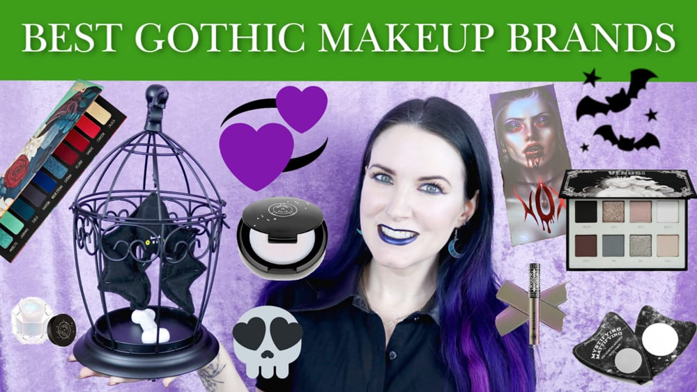 Best Gothic Makeup Brands to Try in 2020 100 cruelty
