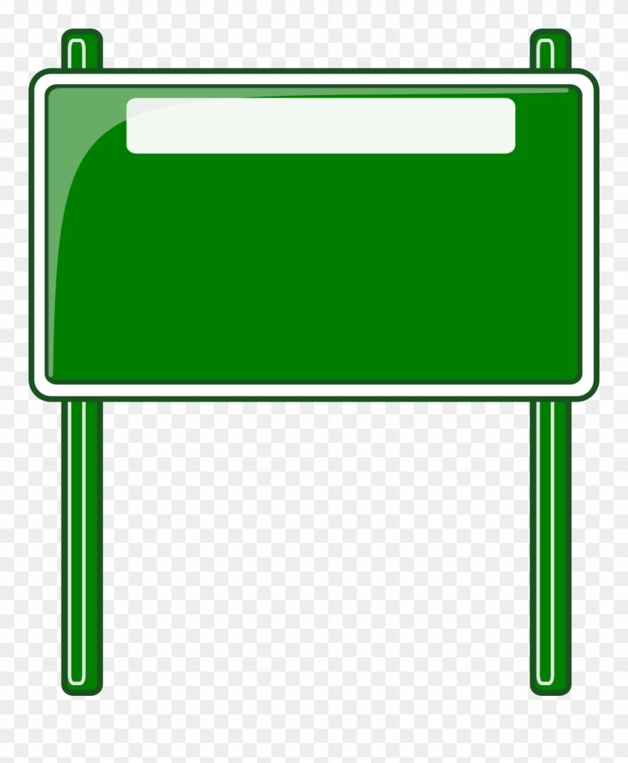 Blank Road Sign Clipart Free