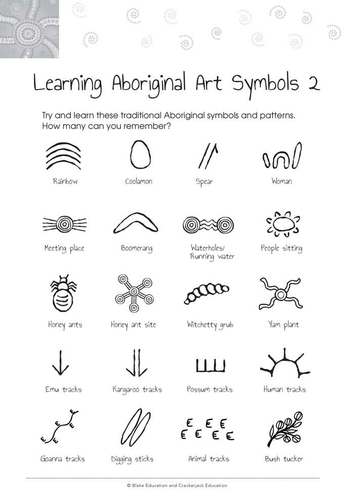 Image Result For Aboriginal Symbols Indigenous Language Symbols
