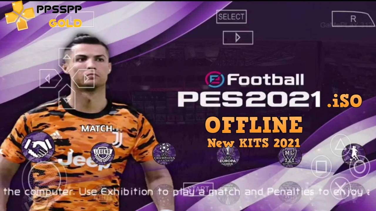Download PES 2021 Offline PPSSPP PSP Iso Save Data and