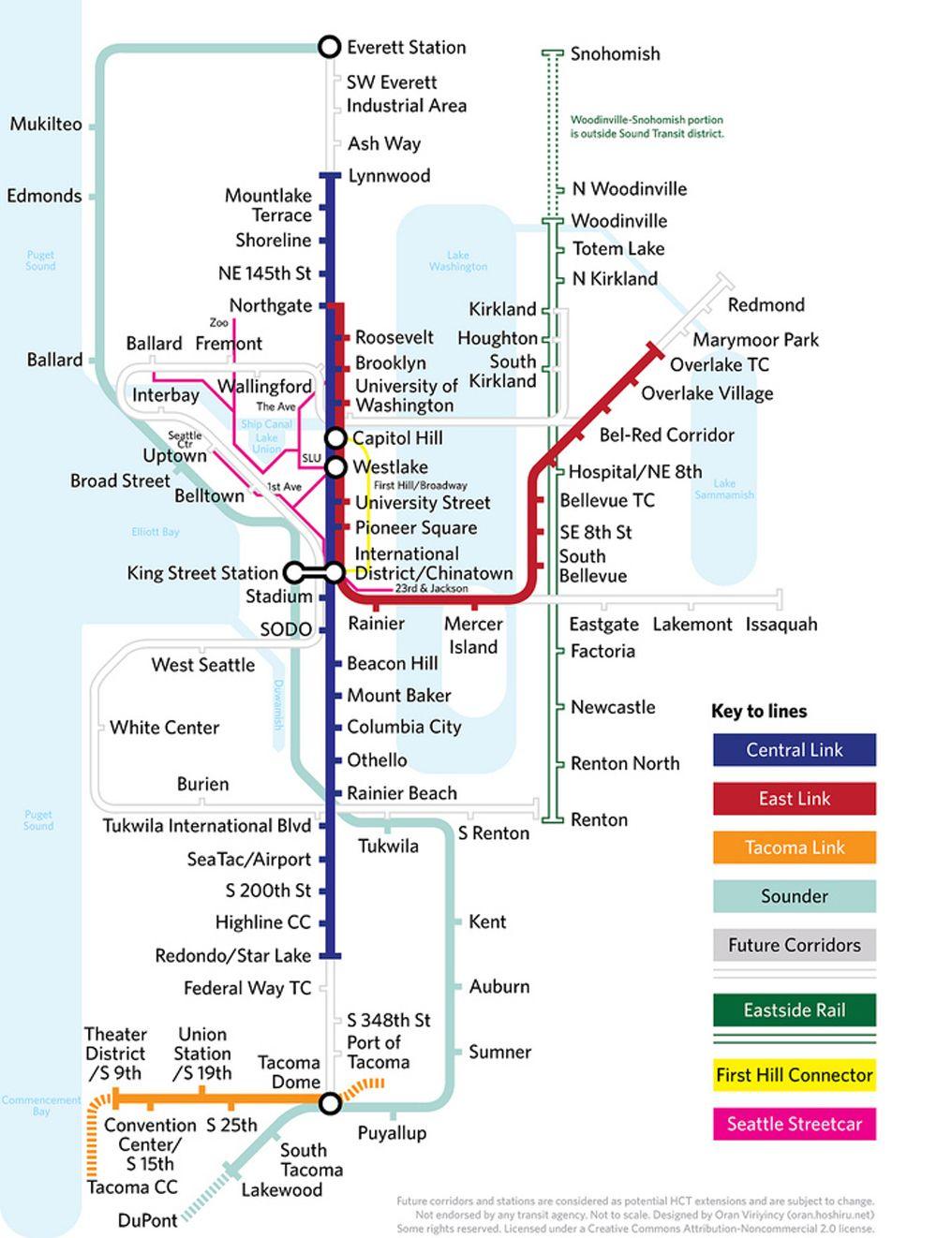 Seattle more maps as art subway maps Pinterest Seattle