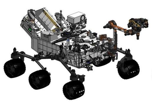 Mars Rover Curiosity Diagram | Spacecraft Models ...