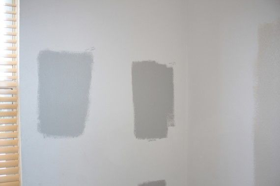 It Came Down Between Valspar Rocky Mountain Slope Left And Stratus Right And The Winner Was Stratus Painted Floors Color Therapy Paint Colors