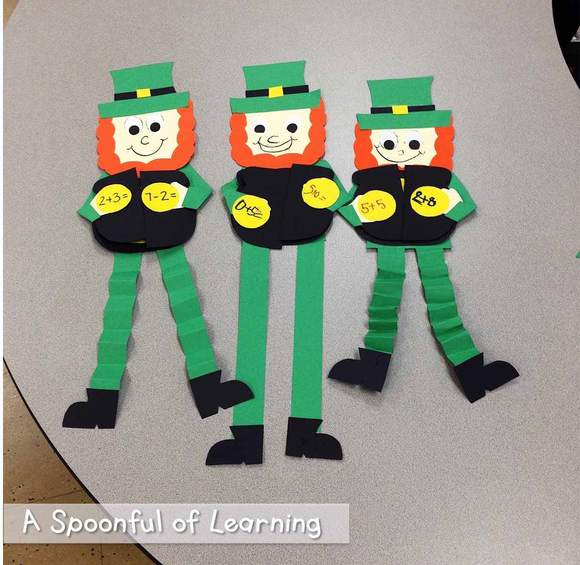 St. Patrick's Day Fun in the classroom!