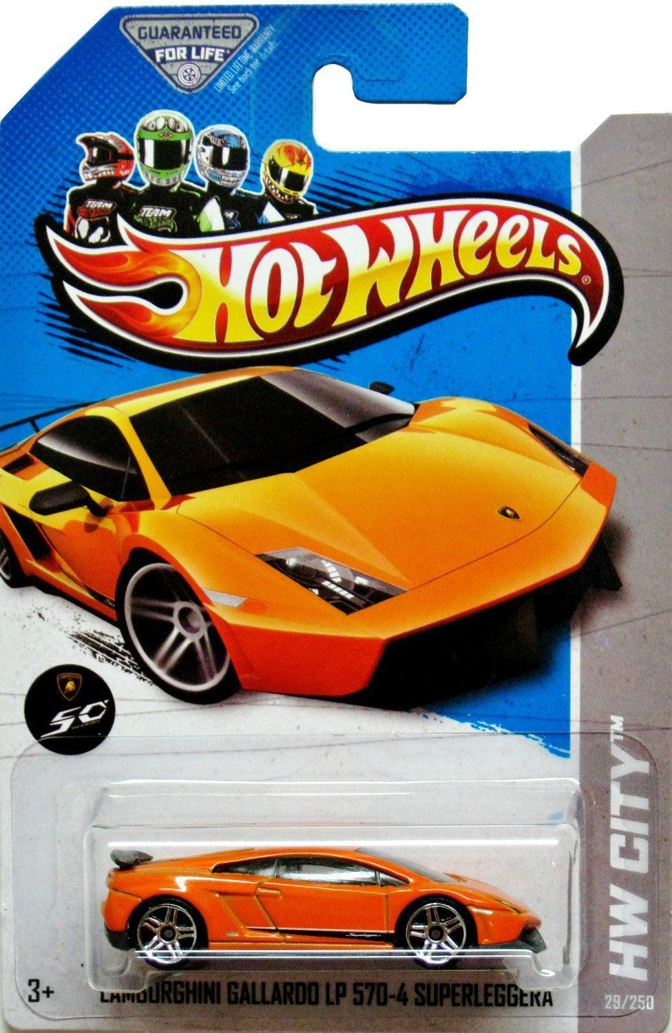 In his stocking? Hot Wheels