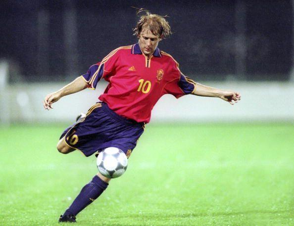 Gaizka Mendieta Zabala  Former spanish attacking midfielder  Played