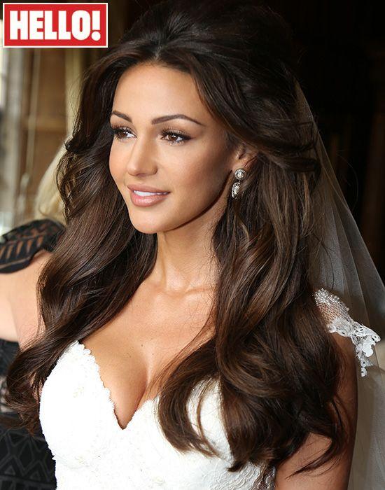 Michelle Keegan S Wedding Hair How To Get The Look Hair Wedding