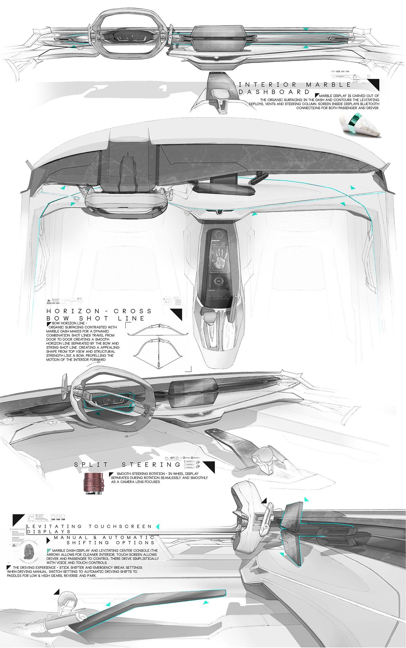 T E S L A | C R U Z on Behance | Cars and interiors | Pinterest