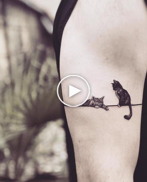 Tattoo; Cat; Cat Tattoo; Animal Tattoo; Cute Tattoo;Small Tattoo; Simple Tattoo; Simple Small