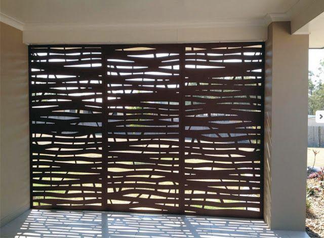 barras de metal modernas, barras modernas para frentes de casas minimalistas, barras ...