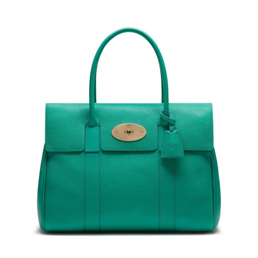 3ec6a7a58e Bayswater in Aqua Green Small Classic Grain | Bayswater | Mulberry ...