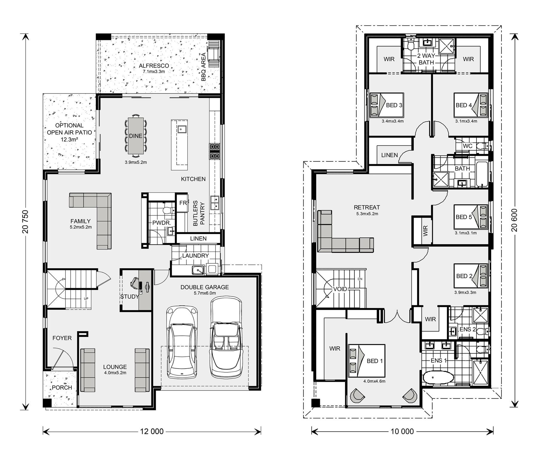 Floor Plan Bayview 370 Home Design House Plans Floor Plans How To Plan