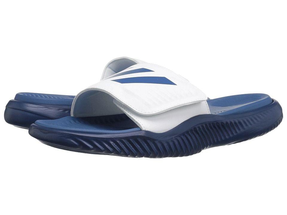 Adidas Originali Adidas Alphabounce Slide (Calzature Bianche / Core