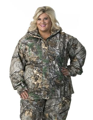ed7fefd11d39d DSG Addie Plus Size Hunting Jacket- Realtree Camo in 2018