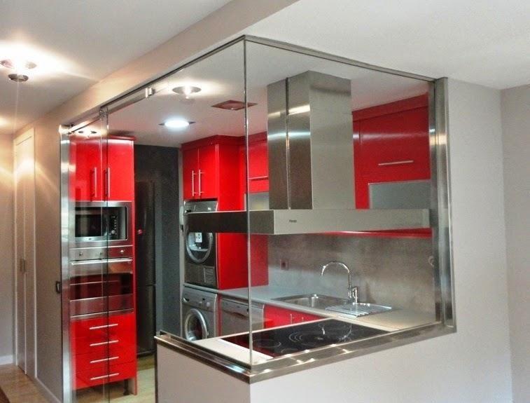 Ideas para zonas de cocina abiertas al sal n cocinas - Separacion cocina salon ...