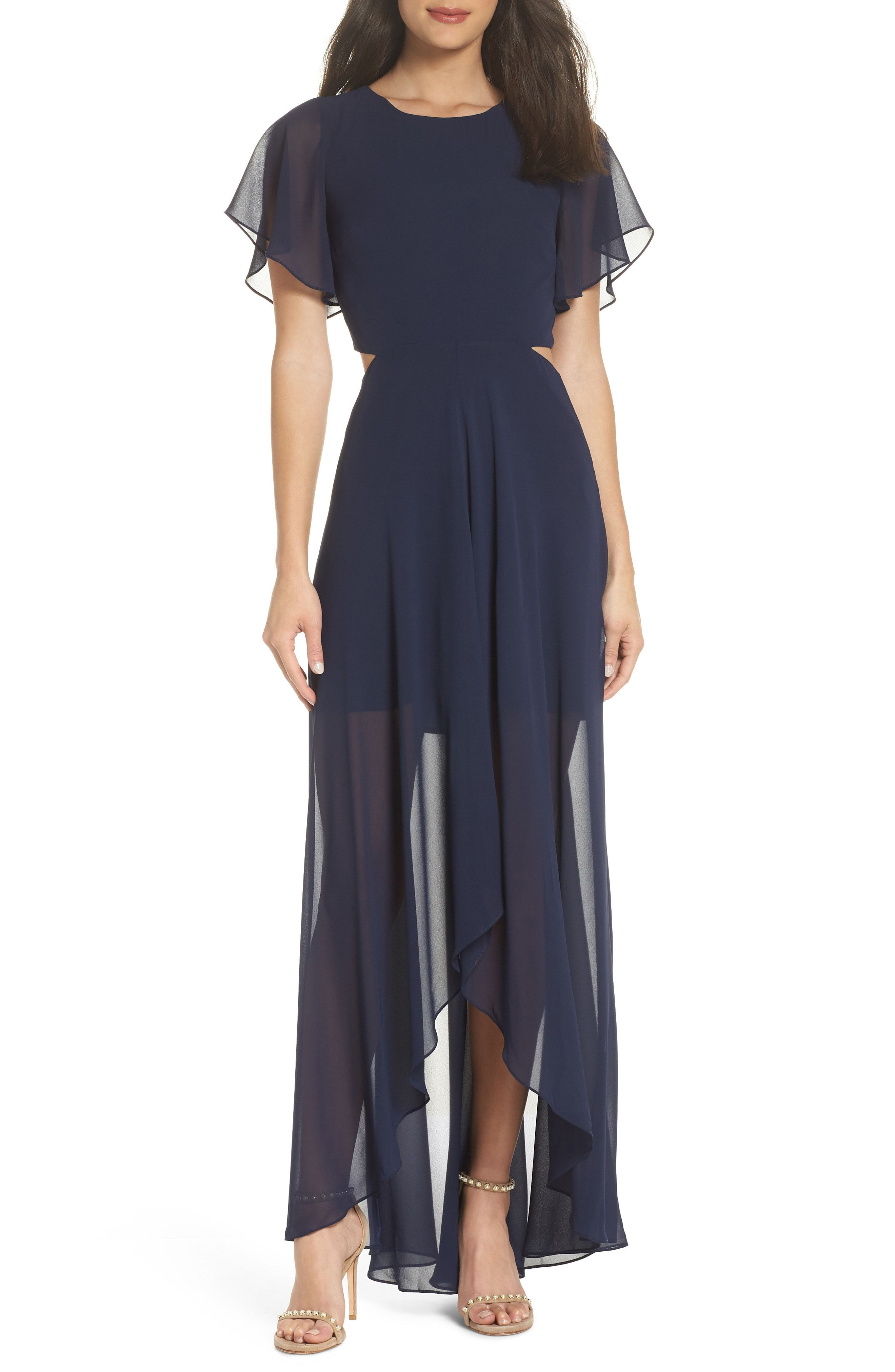 985387aaa47 Ali  amp  Jay Bohemian Rhapsody High Low Maxi Dress available at  Nordstrom