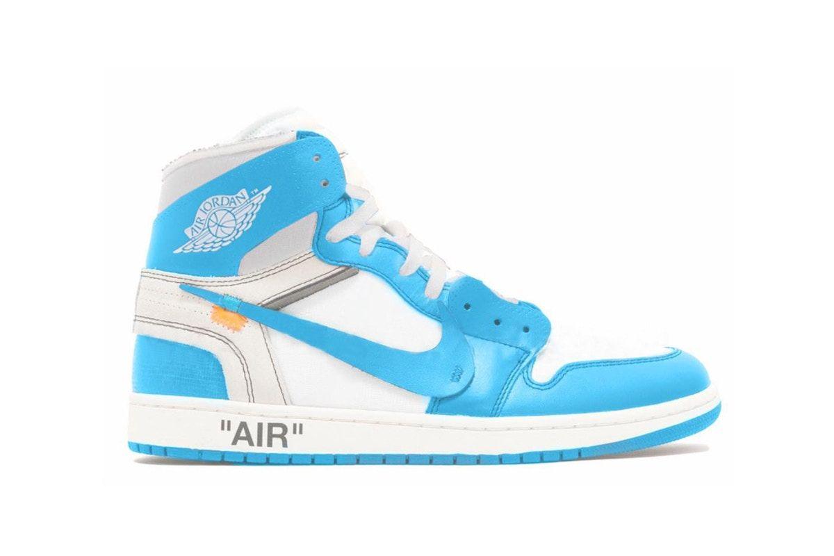 Virgil Abloh X Nike Air Jordan 1 University Blue Rumored For