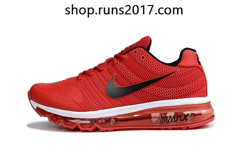 nike air max 2017 kpu mens running shoes red black nz