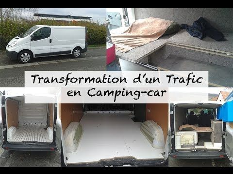 Am nagement renault trafic en camping car lac blanc for Amenagement interieur camping car